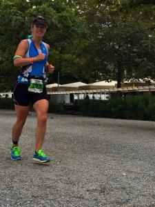 Photo taken by Ian as he was running alongside me.
