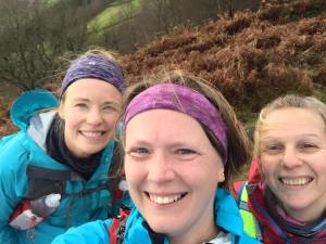 Out on a run in the peak district with some local running friends